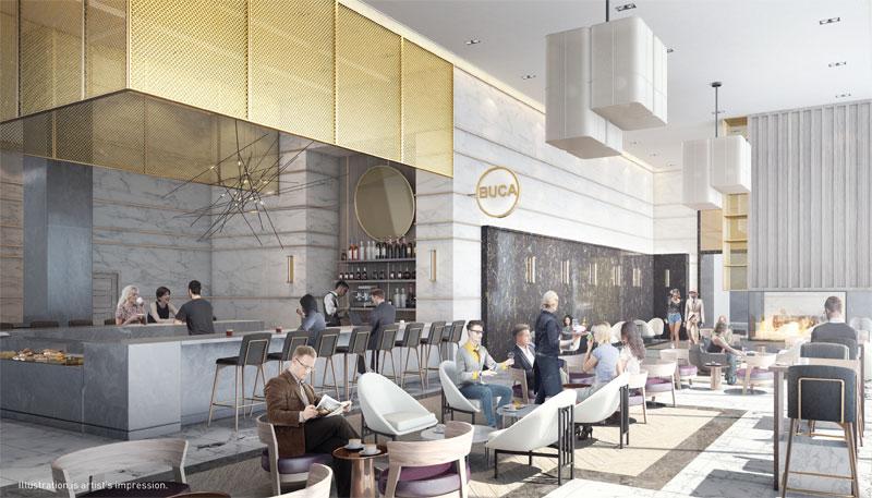 Restaurant in Transit City Condos